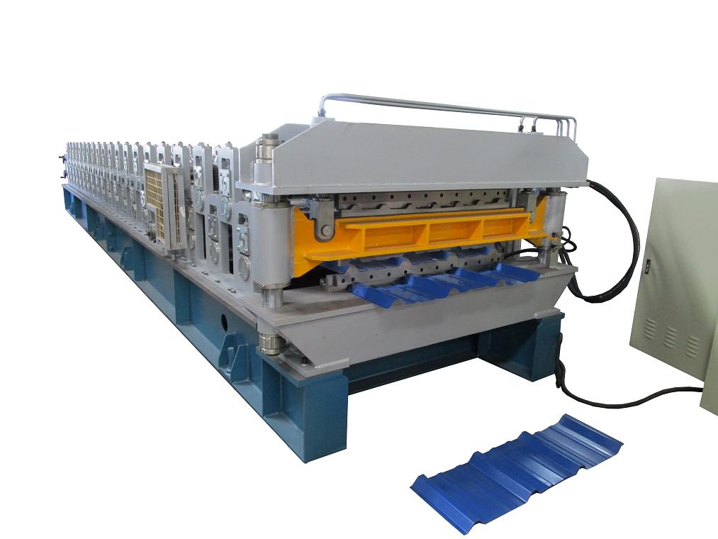 双层金属压型机械/彩钢压瓦机