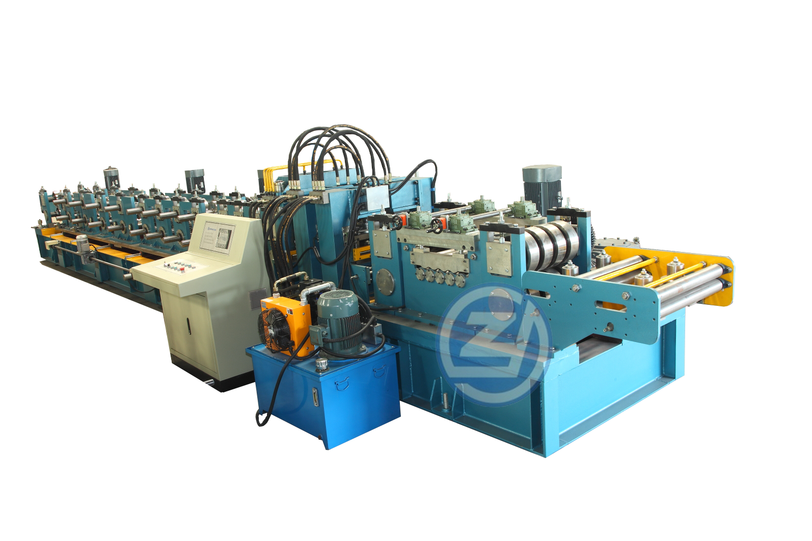 供应全自动檩条成型机/C/Z型互换檩条机 金属压型设备/成型设备