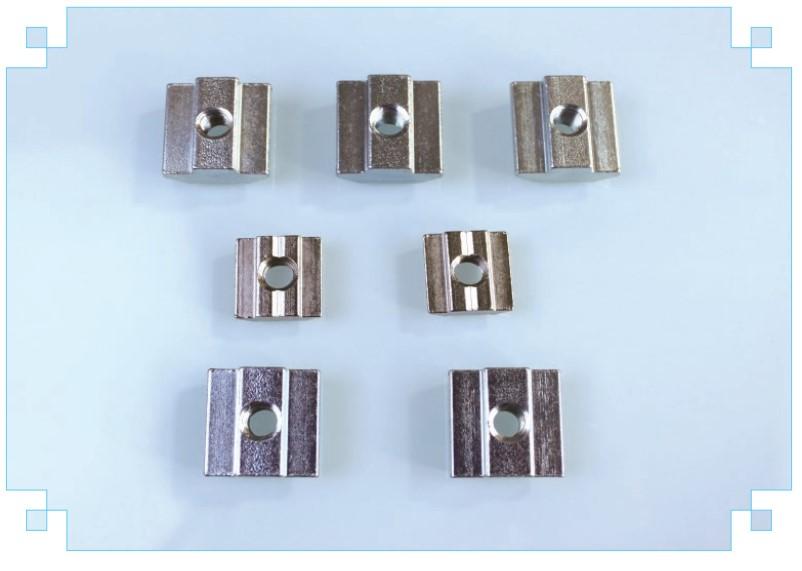 五金配件机械设备铝型材国标欧标滑块螺母
