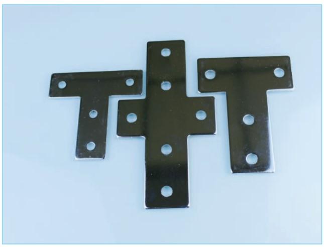 河北供应各种形状铝型材连接板