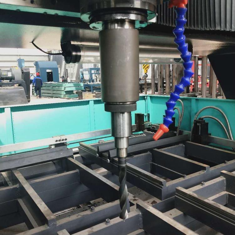 龙门式深孔钻床 全新数控平面钻 钢结构