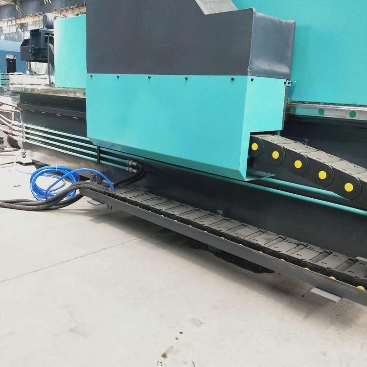 数控平面钻 龙门式移动钻床 钢结构板材钻孔