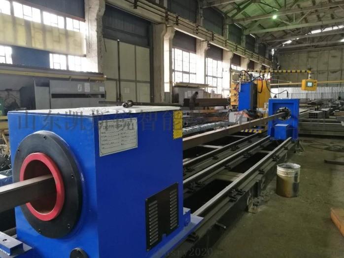 8轴相贯线切割机 钢结构相贯线切割机