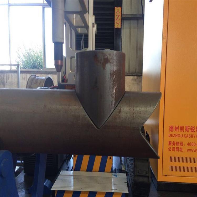 方管相贯线切割机价格 钢结构 数控等离子相贯线切割机