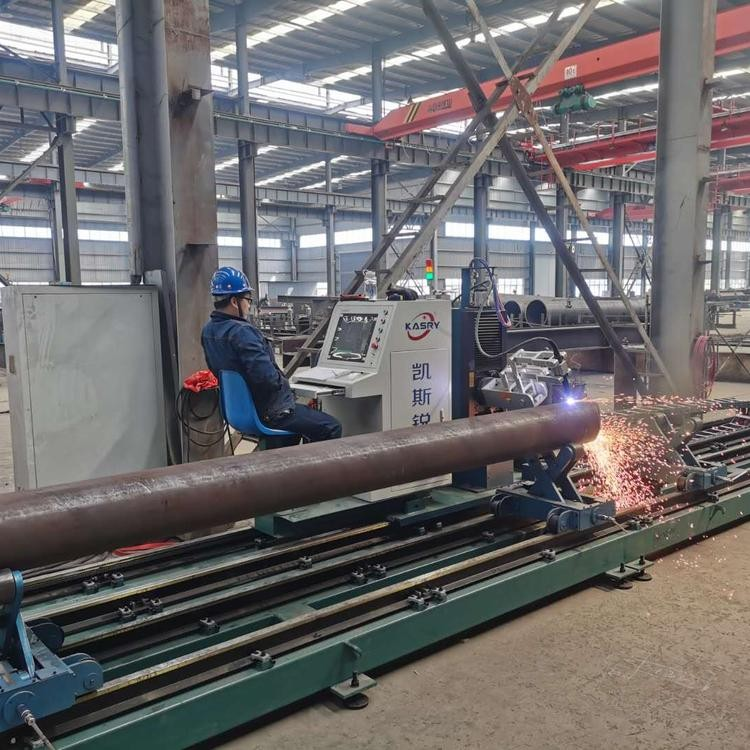 不锈钢圆管相贯线切割机 钢材相贯线切割机 多功能相贯线切割机