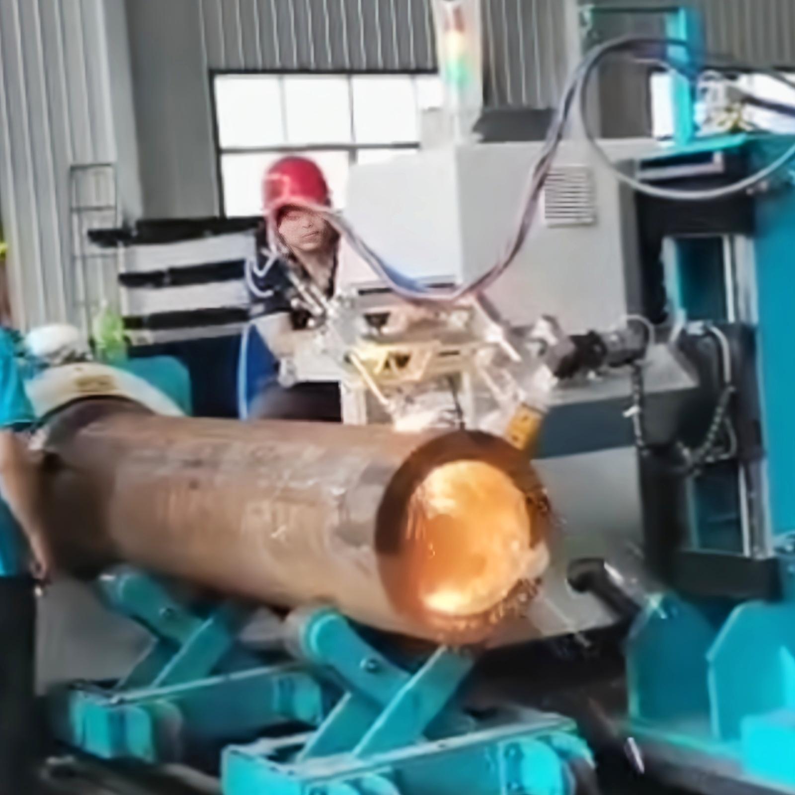 五轴相贯线切割机 等离子圆管切割 钢结构海工应用