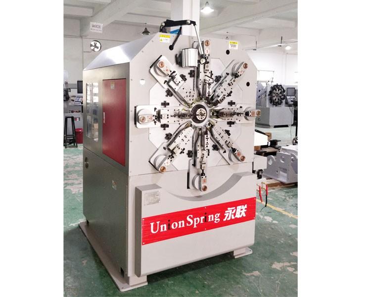 深圳12轴无凸轮转线弹簧机 US-236R