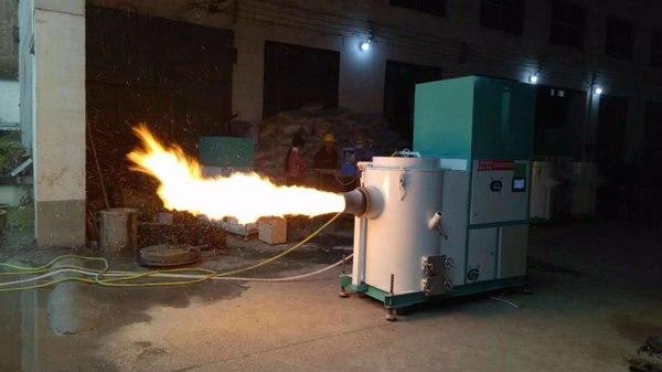 厂家专业制造各种型号生物质颗粒燃烧机