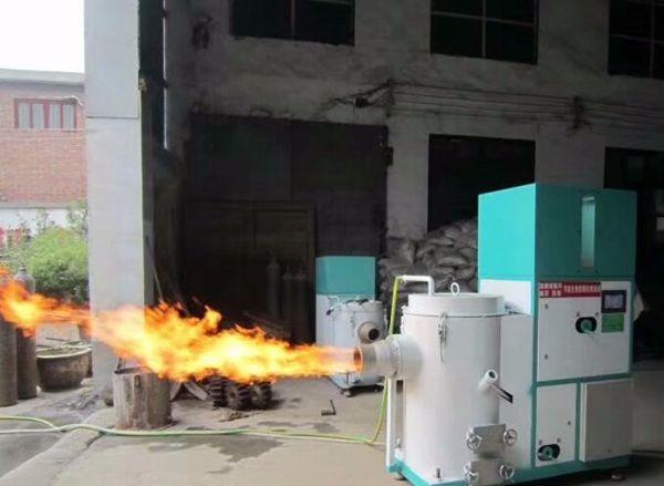 新款生物质颗粒燃烧机现货供应