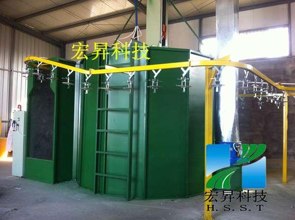 宏昇专业制造DISK自动静电喷漆设备(YD-150)