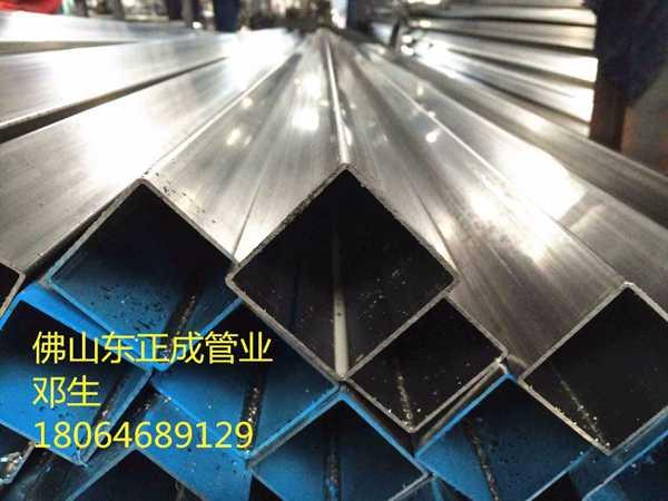 广西光面不锈钢方管厂家,镜面304不锈钢方管现货