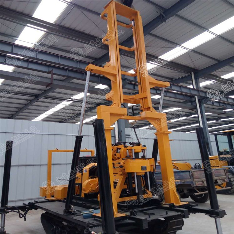 厂家直销230米履带式打井机 HW-230L履带式打井机