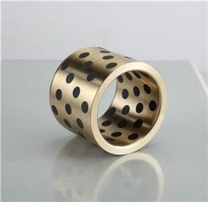 供应MPBZU自润滑轴承,无给油自润滑含油铜套,固体镶嵌整体WQZD轴承