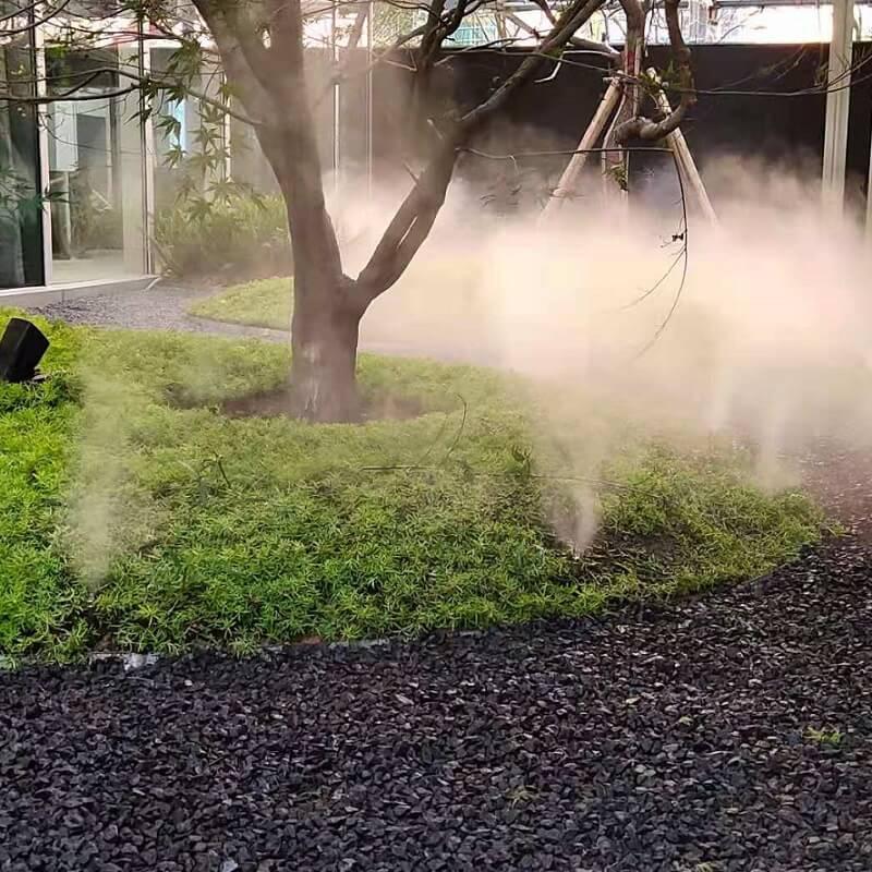 高压喷雾系统 人造雾系统 厂房降温加湿系统设计施工
