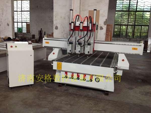 济南安格数控1325气动三工序自动换刀木工雕刻机