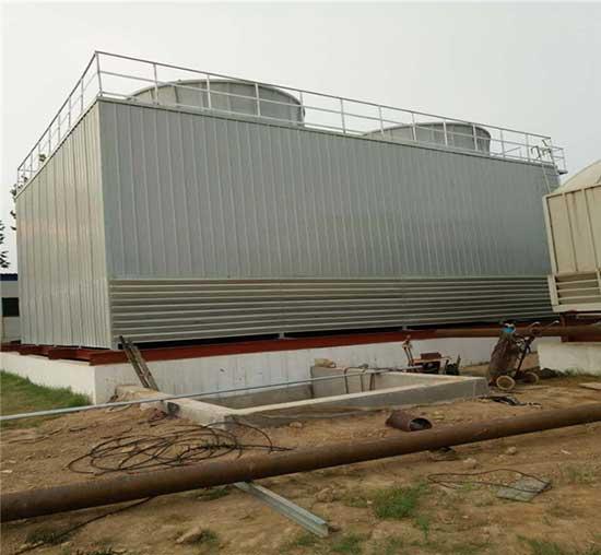 新疆高温方形冷却塔GFNL-200T节能型高温工业冷却塔