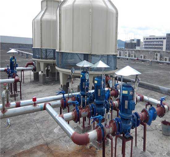 新疆节能圆形污水冷却塔高温圆形工业污水处理冷却塔