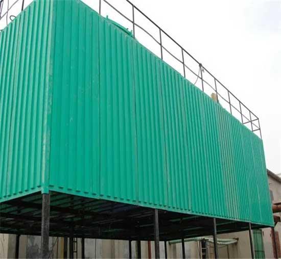 新疆无填料工业冷却塔WPTL300高温无动力喷雾冷却塔