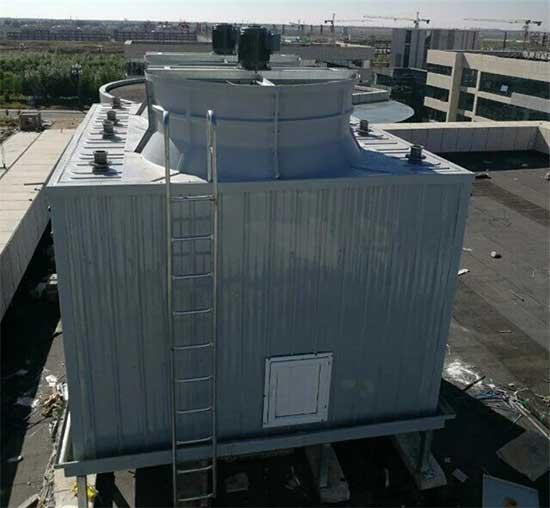 新疆方形高温冷却塔GNT100节能型工业水轮机冷却塔