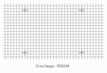 几何畸变测试卡YE 0248
