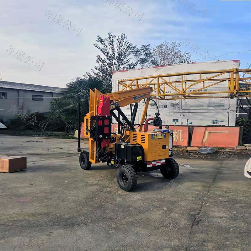 BK-快速高效公路护栏打桩机