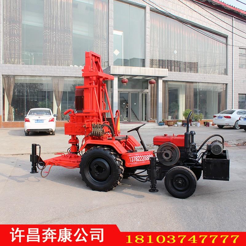BK-农用拖拉机动力头液压钻机打井机