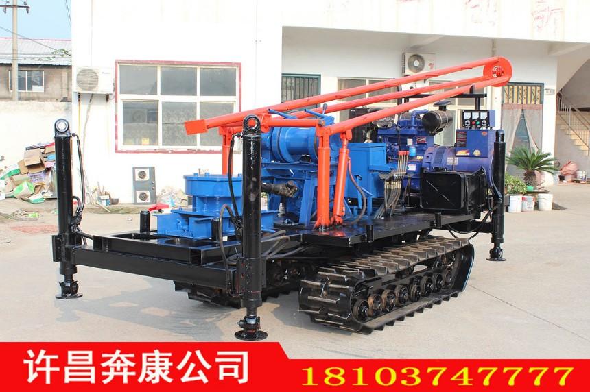 BK-安全快捷履带三角架钻机用水井旋挖钻机