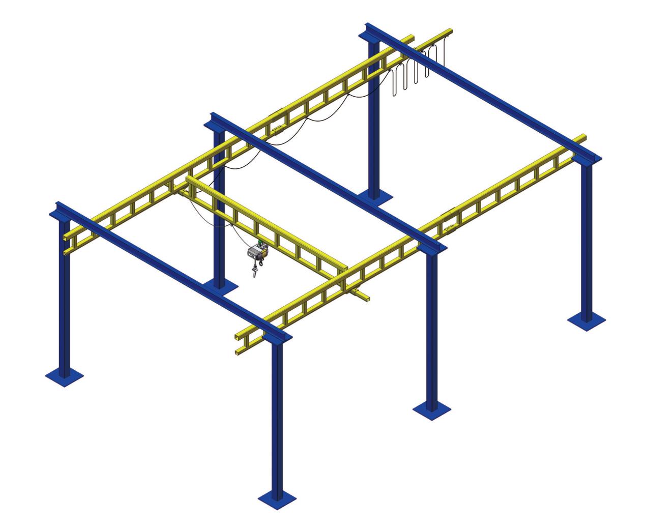 刚性KBK组合式起重机 刚性KBK组合行车