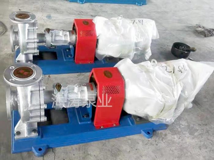河南平顶山KCB系列不锈钢保温齿轮泵—海涛