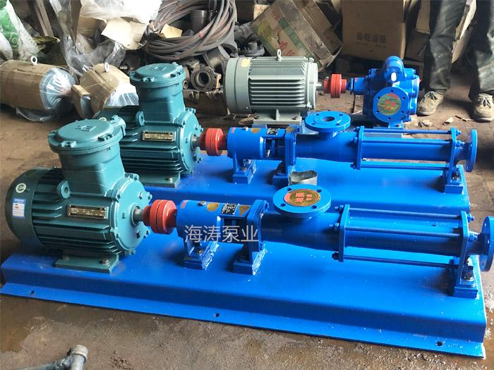 安徽黄山G型污泥输送螺杆泵—海涛