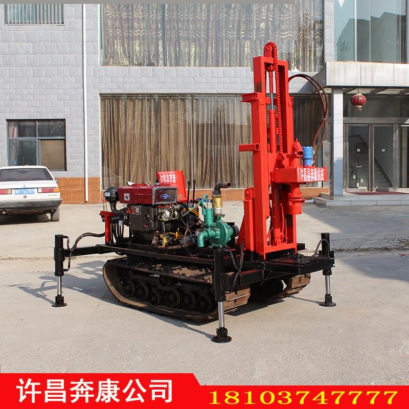 BK-超效率履带小型液压钻机水井钻机冲抓锥