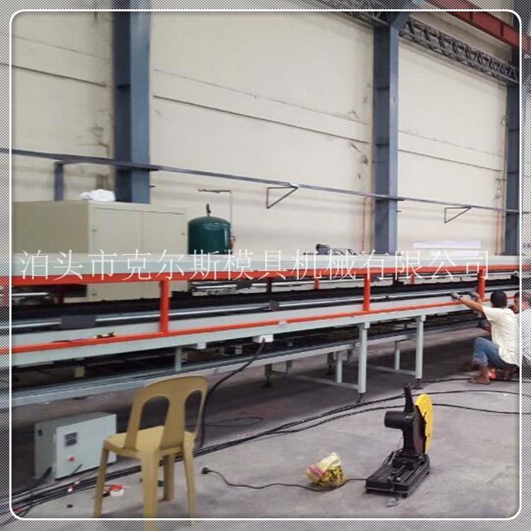 河北克尔斯kes1650-彩石金属瓦生产设备