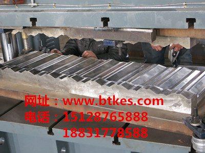 河北泊头克尔斯诺森型彩石金属瓦模具,厂家一手货源