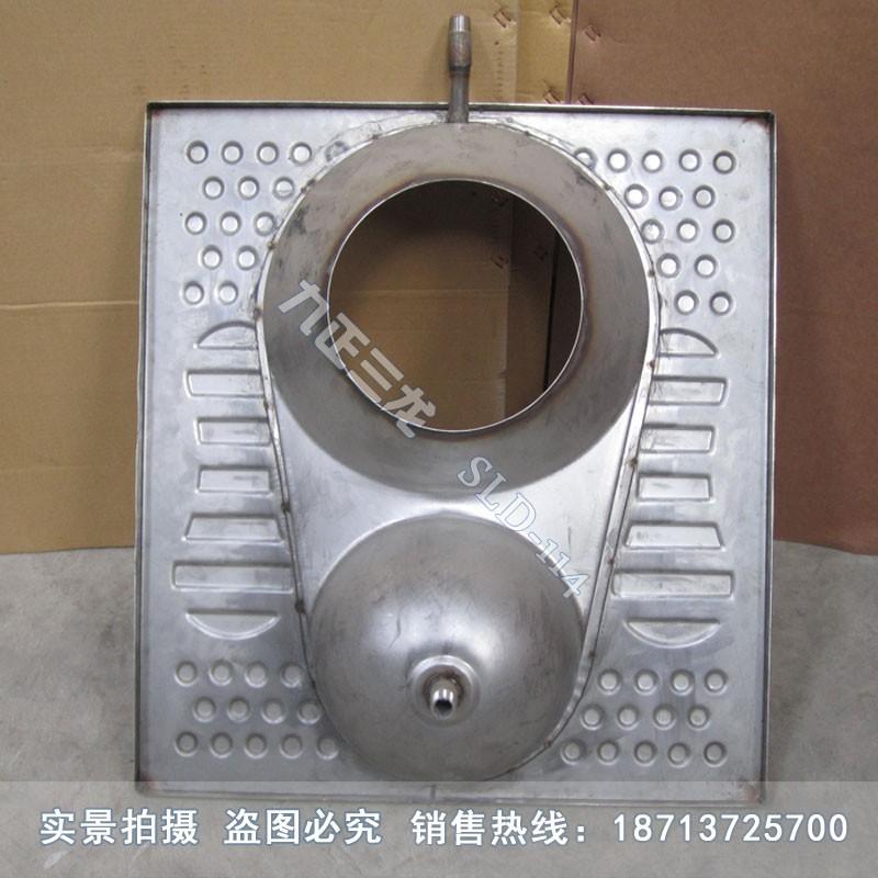 固液分集式不锈钢蹲便器 脚踏式不锈钢蹲坑 九正三龙正品销售