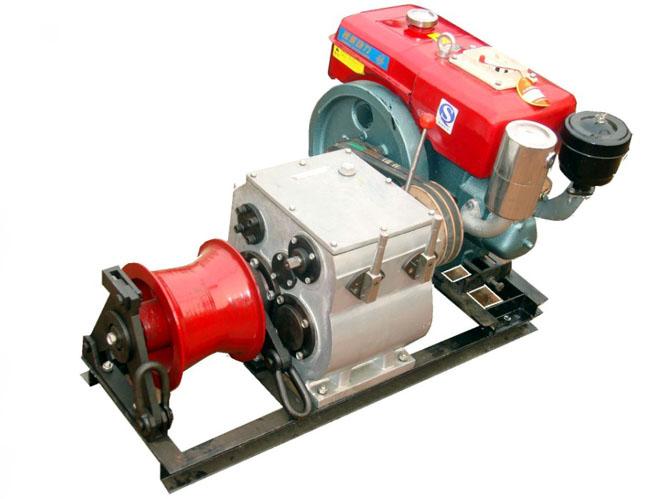 厂家直销3T5T8T柴油汽油机动绞磨机各种规格型号
