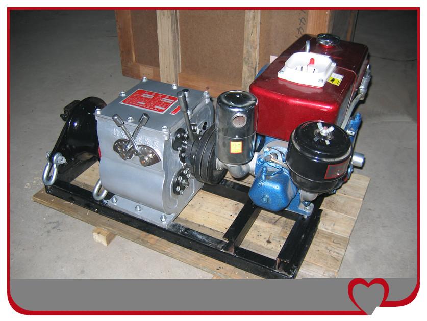 现货促销皮带传动机动绞磨机轴传动快速机动绞磨牵引机