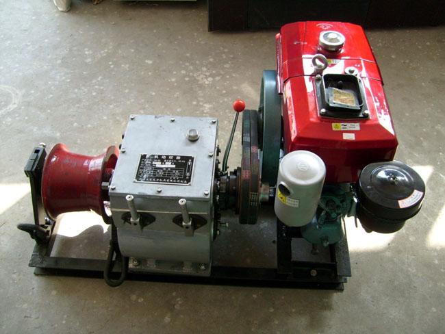 优质柴油机动绞磨机成都昆明贵州三日达汽油机动绞磨