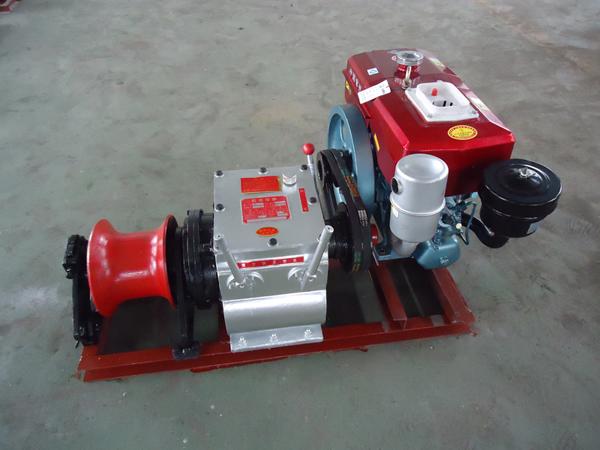 欢迎来厂选购多机型拖拉机绞磨电缆牵引机