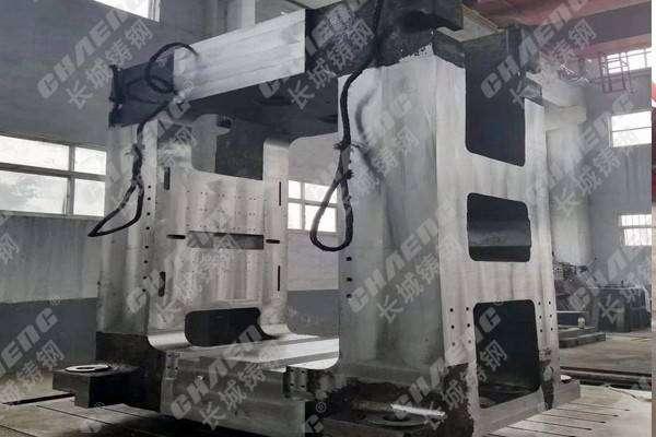 钢铁厂家使用的设备轧机牌坊备件期待与您合作