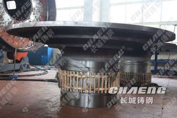 天津球磨机配件   球磨机端盖  铸钢铸造质量保证 客户最佳的选择