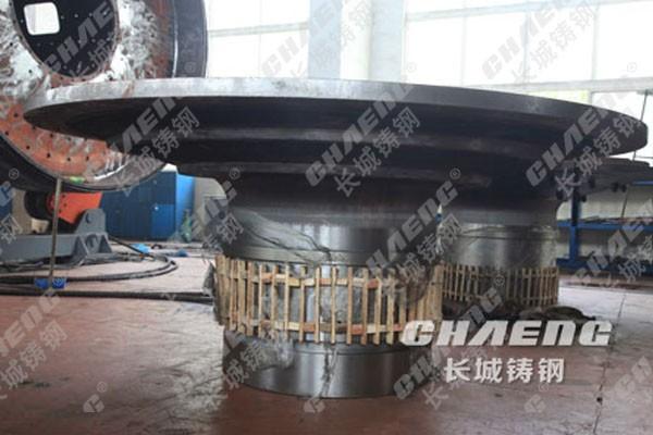 大型铸造厂供应球磨机端盖中空轴