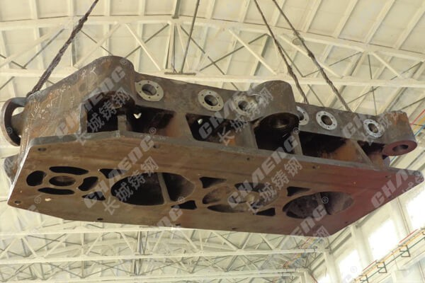 长城铸钢供应压力机横梁铸钢材质