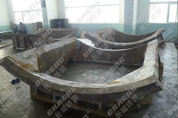 煤磨机配件 广东厂家工艺粉碎座体门框 可来图定制