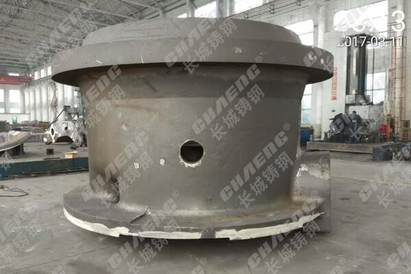 鄂式破碎机机架铸造厂专业铸造大型铸钢件