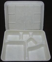 可以吃的纯淀粉全降解餐具及包装制品生产流水线