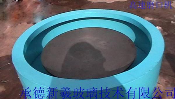 设计建造高速磨口机(玻璃机械)