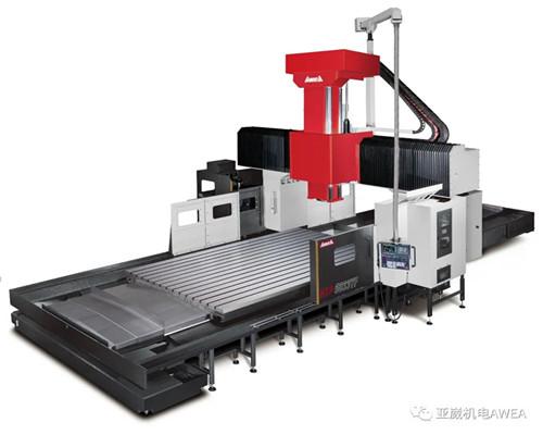 台湾亚崴龙门HTP-5033高刚性加工中心规格