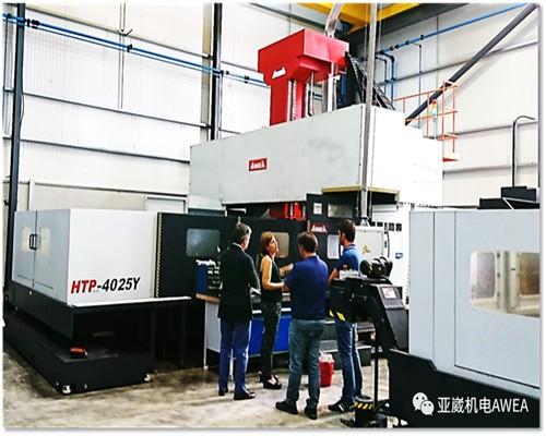 供应亚崴机械HTP-5025龙门加工中心