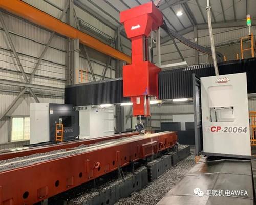 供应台湾亚崴MCP-20064动柱式龙门加工中心