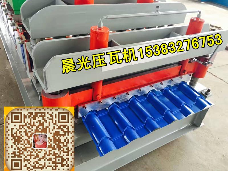广西800琉璃瓦机彩钢瓦设备-金属设备现货五峰机械